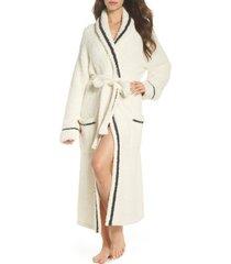 women's barefoot dreams x disney classic series cozychic robe, size 2 - ivory