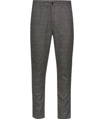 6198734, slim-barro kostymbyxor formella byxor grå solid