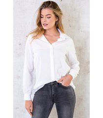 basic blouse dames wit