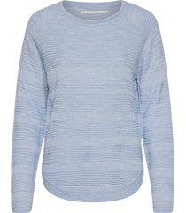 onlcaviar l/s pullover knt noos stickad tröja blå only