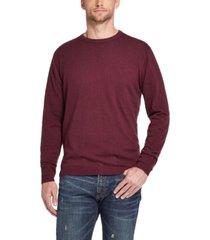 weatherproof vintage men's cotton cashmere crew neck sweater