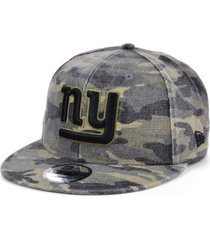 new era men's new york giants worn camo 9fifty cap