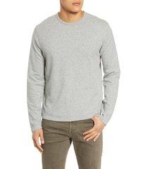 men's frame reversible long sleeve t-shirt, size xx-large - grey
