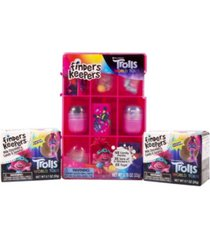 trolls finders keepers milk chocolate eggs with troll collectors case