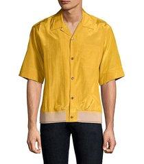 souvenir pajama button-down shirt