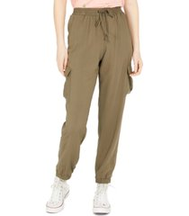 hippie rose juniors' pull-on cargo pants