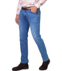 jeans casual colombiano milan celeste  daxxys jeans