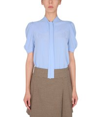 boutique moschino shirt with bow