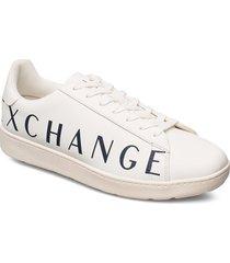 ax man shoes låga sneakers vit armani exchange
