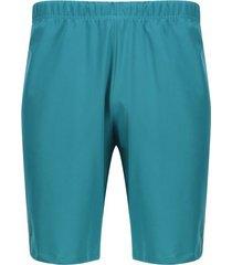pantaloneta facol unicolor color verde, talla xs