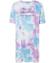 abito in maglina (blu) - rainbow