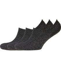 slfvada 3-pack sneaker sock b footies träningssockor/ankle socks svart selected femme