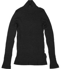 brunello cucinelli sparkling cashmere and silk lightweight ribbed turtleneck sweater with monili