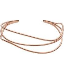 skagen women's kariana stainless steel wire bracelet