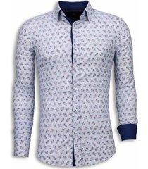 overhemd lange mouw tony backer blouse daisy pattern