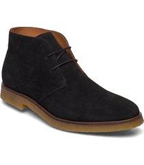 biadino laced up boot desert boots snörskor svart bianco