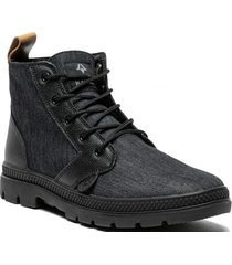 botin jani leather negro kivul
