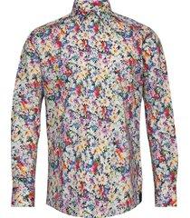 8602 - gordon sc skjorta casual multi/mönstrad xo shirtmaker by sand copenhagen