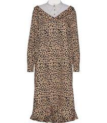 adaline jurk knielengte bruin baum und pferdgarten