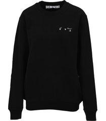 off-white off white liquid melt arrow sweatshirt