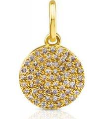 dije gem power de oro con diamantes 812444050