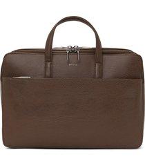 matt & nat tom briefcase, chestnut