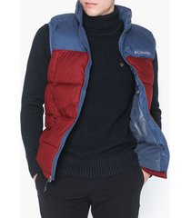 columbia pike lake vest jackor red