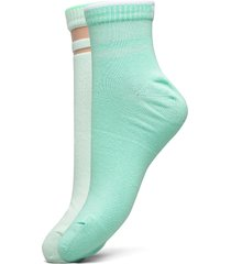 puma short sock structure 2p women lingerie socks regular socks grön puma