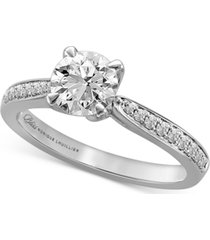 bliss monique lhuillier diamond engagement ring (1-1/4 ct. t.w.) in 14k white gold