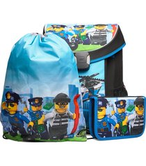 easy school bag set accessories bags backpacks blauw lego bags