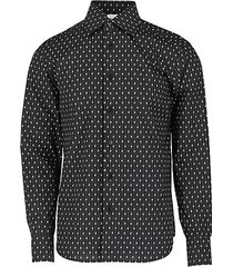 regular fit logo-print cotton shirt