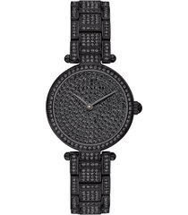 women's coach park crystal embellished bracelet watch, 26mm
