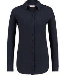 blouse poppy blauw