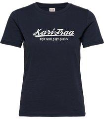 mlster tee t-shirts & tops short-sleeved blå kari traa