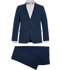 calvin klein skinny fit suit bright navy