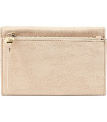 women's hobo might leather trifold wallet - none