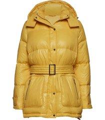 2nd twyla gevoerde lange jas geel 2ndday