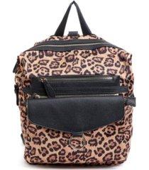 like dreams leopard print backpack