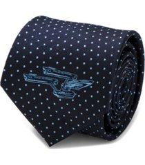 star trek enterprise dot men's tie
