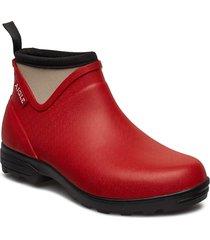 ai landfor chili regnstövlar skor röd aigle