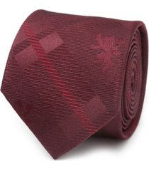 men's lannister lion plaid tie