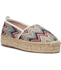 ya-al03-gr tonga sandaletter expadrilles låga multi/mönstrad wonders