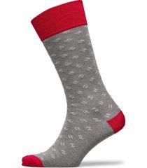 h dot sock underwear socks regular socks grå hackett london