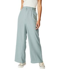 cotton on pleat front drapey pants