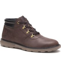 botin hombre langtry chocolate cat
