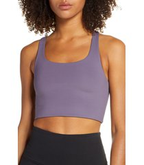girlfriend collective paloma sports bra, size x-large in dahlia at nordstrom