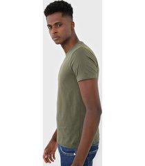 camiseta sergio k lisa verde