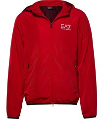 jacket tunn jacka röd ea7