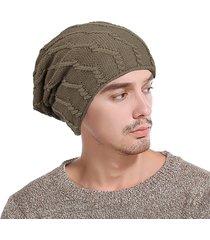 berretto da baseball a tinta unita da uomo in lana a tinta unita a maniche lunghe in lana tinta unita a maniche lunghe da uomo cappellino da sci