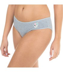 calcinha boneca mescla capricho - 545.024 capricho lingerie básica multicolorido